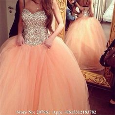 Find More Quinceanera Dresses Information about Vintage Sweetheart  Ball gown Coral quinceanera dresses 2015 Tulle with Crystal vestido de 15 anos debutante gown sweet 16 dress,High Quality dresses leather,China tulle flower girl dress Suppliers, Cheap tulle wedding dress from Romantic bride wedding dress Suzhou Co., Ltd. on Aliexpress.com