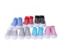 Baby Cotton Shoes Socks Infant Cute Ankle Anti-Skid Indoor Shoes Sock