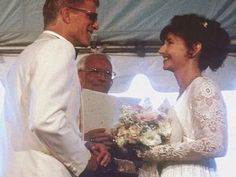 Ted Danson  Mary Steenburgen at their 1995 wedding.