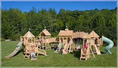 playsets plans for free | Looking for free wood working plans? Visit us at www.AwlFreePlans ...