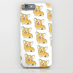 Corgi+:p+iPhone+&+iPod+Case+by+Ink-stained+&+Messy+-+$35.00