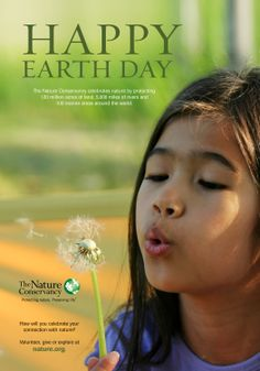 Celebrate earth day and every day by spending time in nature with your family. Visit naturerocks.org for great activities and ideas.