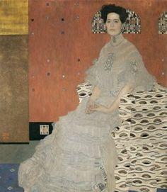 Portrait of Fritza Riedler by Gustav Klimt, 1906