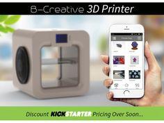 B-Creative 3D Printer | A New Way to Make Magic