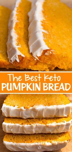 Best Low Carb Recipes, Sugar Free Recipes, Keto Recipes, Cooking Recipes, Sugar Free Pumpkin Butter Recipe, Flour Recipes, Favorite Recipes, Paleo Pumpkin Bread, Homemade Pumpkin Puree