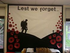 Remembrance Day Posters, Remembrance Day Activities, Veterans Day Activities, Kids Learning Activities, Remembrance Poppy, Remembrance Sunday, School Library Displays, Classroom Displays, Classroom Ideas