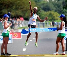 Blog Esportivo do Suíço:  Joziane e Giovani encerram domínio do Quênia e vencem a Meia Maratona do Rio