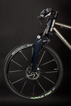 Crisp Titanium bicycles. As close to perfection as bicycle fabrication ever needs to get.