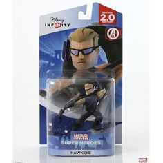 Disney Infinity: Marvel Super Heroes 2.0 Edition - Hawkeye (712725025717) A master archer from close or afar, hawkeye never misses a target.