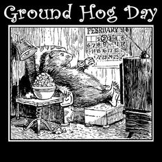 A free word search for Groundhog Day!