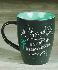 Abbey Press 'A Friend is One of God's Brightest Blessings' Mug