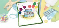 הזמנת יום הולדת בצורת עוגה
