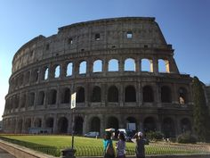 Get up before 8am and do some quiet and cool sightseeing in Rome before the heat takes over.