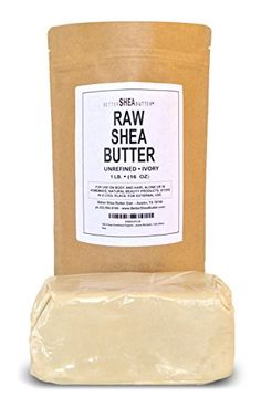 100% Unrefined Organic Shea Butter - FREE Body Butter Recipes eBook - Best Organic African Grade A Ivory - Safe for any age and skin type, non-comedogenic - Rich in Vitamins A, E and F - Use on Acne, Eczema, Stretch Marks, Rashes - Use As Belly Butter To