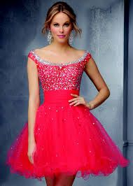 Nice pink dress good for parties and prom.