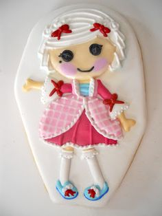 LaLaLoopsy Cookies .Oh Sugar Events  http://ohsugareventplanning.blogspot.com/