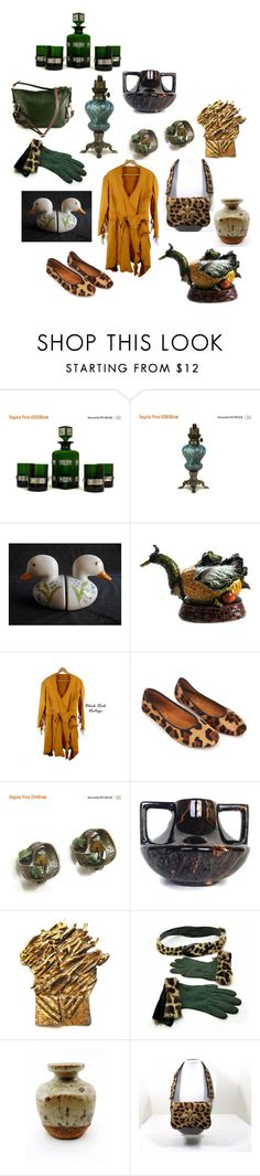 """""""Team Work"""" by patack ❤ liked on Polyvore featuring GRANDOE and vintage"""
