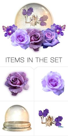 """Everything's Purple Rosy"" by rboowybe ❤ liked on Polyvore featuring art"
