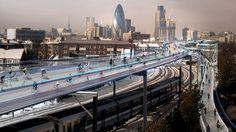 霧の街、今ではすっかり、チャリの街。 イギリスの首都ロンドンが、「自転車革命」を掲げているのはご存じの方も多いと思います。自転車専用レーン、通称「サイクルスーパーハイウェイ」の整備を積極的に推進する