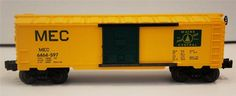 LIONEL TRAIN Maine Central Boxcar MEC Pine Tree Rt O Scale 1996 NIB 6-29203 New #Lionel