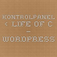 Kontrolpanel ‹ Life of C — WordPress