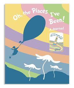 Love this Oh, the Places I've Been! Hardcover on #zulily! #zulilyfinds