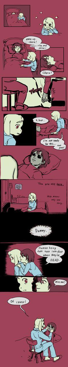 Undertale Comic: Dead child tell no tales by alganiq on DeviantArt