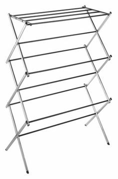 Whitmor 6060 741 Folding Clothes Drying Rack Chrome By 29 47 Measures