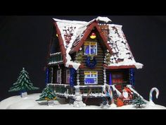 From this video you will learn how to make a very beautiful miniature house of Santa Claus. And most importantly, this house is almost completely made of car. Putz Houses, Fairy Houses, Santa Claus House, Christmas Crafts, Christmas Decorations, Xmas, Diy Cardboard, Cardboard Houses, Christmas Villages