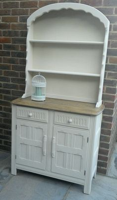 Oak Dutch Dresser Lovingly Restored With Autentico Chalk Paint In Cocos