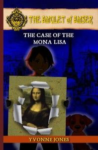 donnabookreviews: Book Review: Yvonne Jones: The Amulet Of Amser: The Case Of The Mona Lisa