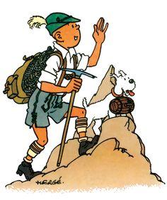 Vacances en stock ! Nous poursuivons notre série « Tintin en vacances »  (relire les journaux parus en 2013  et 2014). Il nous a paru intéressant de poursuivre l'aventure estivale ...