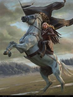 A place to share and appreciate fantasy and sci-fi art featuring reasonably portrayed women. Fantasy Warrior, Character Portraits, Character Art, Fantasy Kunst, Female Knight, Medieval Fantasy, Sci Fi Art, Horse Art, Fantasy Artwork