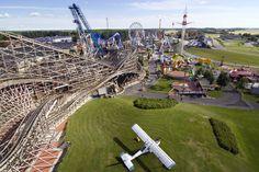 PowerPark amusement park.  South Ostrobothnia province of Western Finland. - Alahärmä Etelä-Pohjanmaa.