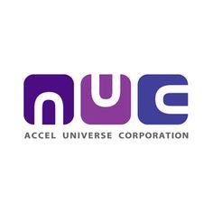 アクセルユニバースのロゴ:組織の理想のカタチ | ロゴストック
