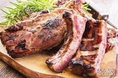 Receita de Costela de boi assada no forno em receitas de carnes, veja essa e outras receitas aqui!