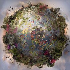 Collage di foto per meravigliosi mondi immaginari | Fotoritocco