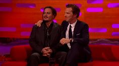 Benedict and Johnny Depp on The Graham Norton Show - 27th November 2015