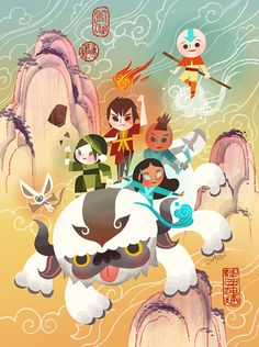 "joeyart:""Masters of Elements"" (2015)Gallery Nucleus is doing a The Legend of Korra / Avatar: the Last Airbender Tribute Exhibition. March 7, 2015 - March 22, 2015Opening reception is March 7th, 2015 6:00PM - 10:00PM   The hits just keep on coming! It is so cool that a number of artists I follow on Tumblr have contributed amazing pieces to the Avatar/Korra tribute show. *sniff*"