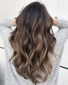 New hair brunette highlights natural light browns Ideas - All For Hair Color Balayage Balayage Ombré, Brown Hair Balayage, Brown Ombre Hair, Balayage Brunette, Light Brown Hair, Hair Color Balayage, Dark Brown, Natural Hair Color Brown, Natural Ombre Hair