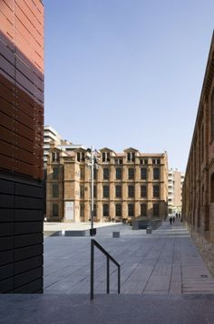RQP Arquitectura, Campus De La Comunicació Poblenou, Inplanted in the Cerda Grid, Barcelona