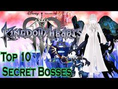 Kingdom Hearts 3 - Top 10 Possible Secret Bosses - YouTube