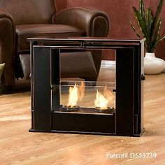 Portable Indoor / Outdoor Gel Fuel Fireplace at HSN.com.