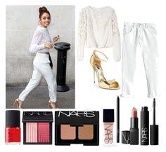 """""""Roja #64"""" by dream96 on Polyvore featuring moda, Alice + Olivia, Rebecca Taylor, Dolce&Gabbana e NARS Cosmetics"""