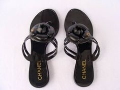 My all-time favorite sandals - comfortable, chic and Chanel - what more would you need?