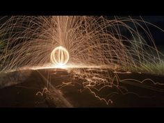 Gizmodo's Shooting Challenge: Steel Wool - Super cool idea, gotta try it someday