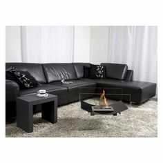 I love sitting by the fire ANYWHERE so I would love to have this portable fireplace that is fueled by bio-ethanol = )