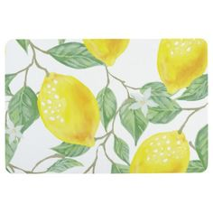 Lemon Kitchen Rug Faucets Moen Decor Yellow Throw Flatweave Dining Room Area Rugs Citrus Print Home In 2018 Future