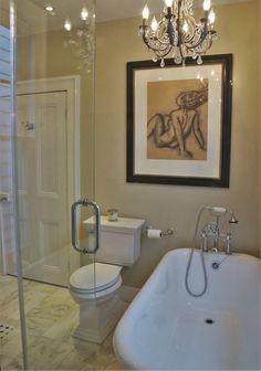 Master Bath Complete: I No Longer Worry I May Fall Through The Floor.  Charcoal SketchMarble FloorRestoration HardwareBathtubsThe ...