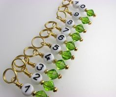 Some home made stitch markers. Hmm, are there enough steampunks who knit that I should make some to put in the shop?